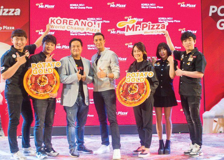 """""""Mr.Pizza"""" พิซซ่าพรีเมี่ยมแบรนด์อันดับ 1 สัญชาติเกาหลี พร้อมเปิดให้ลิ้มลองความอร่อยแล้ว 4 สาขาในไทย"""