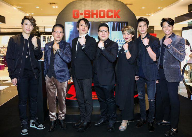 CASIO G-SHOCK พารำลึกถึงนาฬิกาหน้าปัดไอคอนนิคสุดคลาสสิค  รุ่น 5000 ซีรี่ย์ ในงาน Evolution Back to the ORIGINS