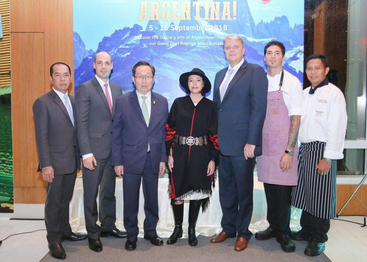 เปิดเทศกาลอาหารอาร์เจติน่า ห้องอาหารเดอะเวิลด์ โรงแรมเซ็นทาราแกรนด์ฯ เซ็นทรัลเวิลด์