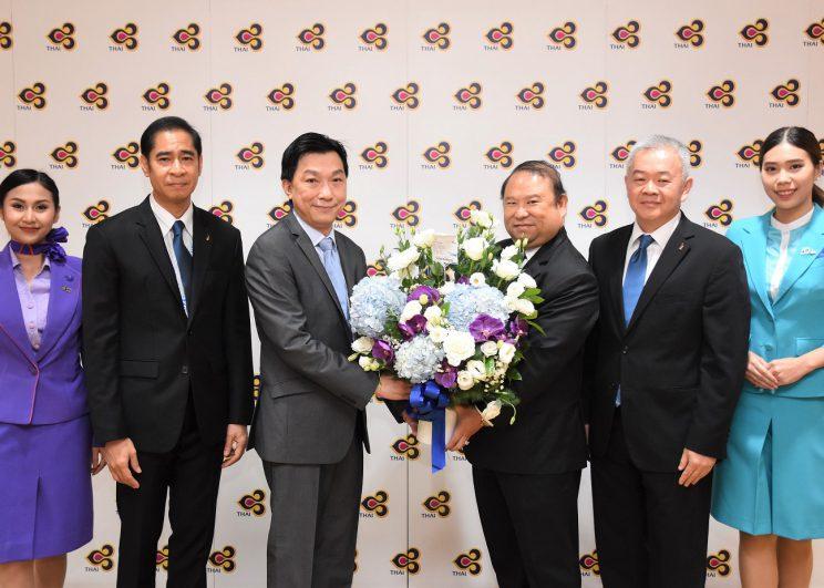 บางกอกแอร์เวย์สร่วมแสดงความยินดีกับกรรมการผู้อำนวยการใหญ่คนใหม่ ของ บริษัท การบินไทย จำกัด (มหาชน)