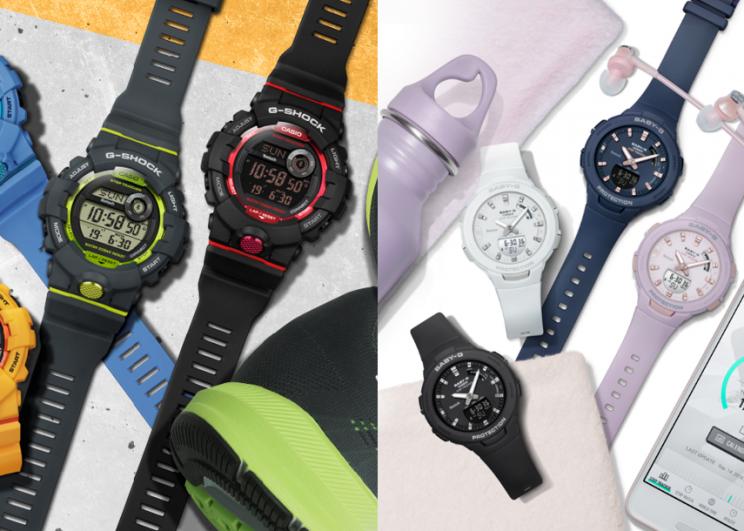 CASIO G-SHOCK เปิดตัวนาฬิการุ่นใหม่ G-SQUAD สุดคูล ให้สาวก G-SHOCK และ BABY G ใช้ชีวิตสุดแอคทีฟได้เต็มที่