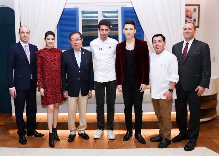 ดินเนอร์มื้อพิเศษกับเชฟมิชลินสตาร์ เฟอร์นันโด้ อเรลลาโน ณ ห้องอาหารอูโนมาส โรงแรมเซ็นทาราแกรนด์ฯ เซ็นทรัลเวิลด์