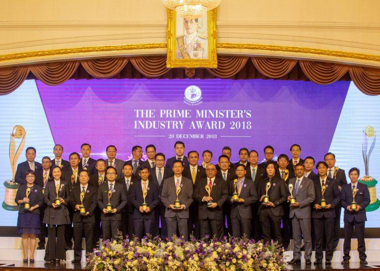 """5 บริษัทในเครือเอสซีจี ร่วมคว้า 4 ประเภท """"รางวัลอุตสาหกรรมดีเด่น ประจำปี 2561"""" สร้างสรรค์ตัวอย่างการพัฒนาประเทศ ให้ก้าวหน้าอย่างเข้มแข็งและยั่งยืน"""