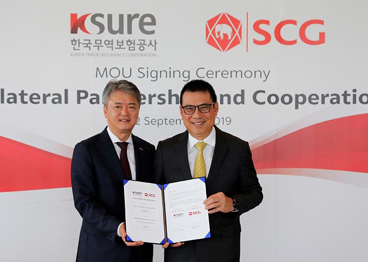 1_เอสซีจี ลงนามความร่วมมือกับ องค์กรประกันเพื่อการส่งออกเกาหลีใต้_Memag_Online