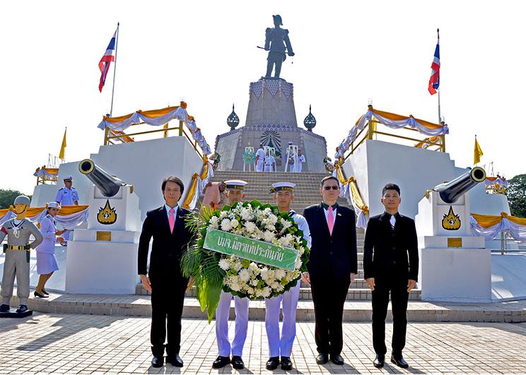 มิตรแท้ฯ ถวายราชสักการะวันปิยมหาราช วางพวงมาลา ณ ป้อมพระจุลจอมเกล้า