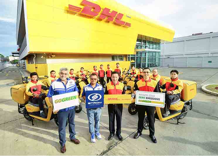 Group Photo - DHL Express and Strom_Memag Online