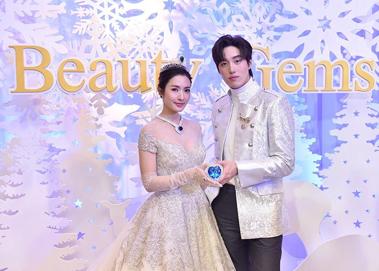 The heart of Christmas Beauty Gems แอฟ ทักษอร-ต่อ ธนภพ_Memag Online