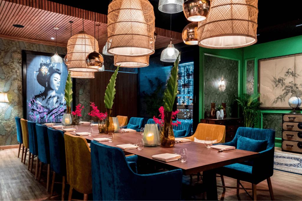 ร้านอาหารที่ พูลแมน คิง เพาเวอร์ กรุงเทพ