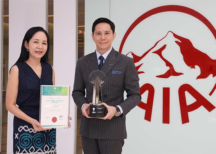 เอไอเอ ประเทศไทย คว้ารางวัล Asia Responsible Enterprise Awards  ประจำปี 2564 จาก Enterprise Asia เป็นปีที่ 2